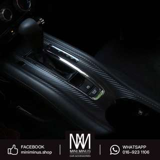 Honda HRV Console Gear Carbon Sticker