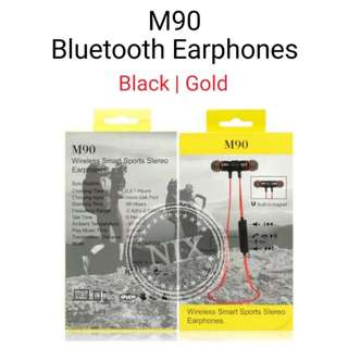 M90 Bluetooth Earphone Stereo Wireless headphones Headset