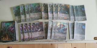 Cardfight Vanguard Foils and deck