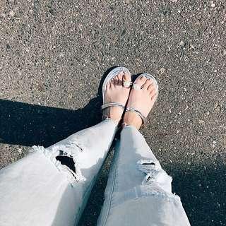 🚚 ✨珍珠指扣拖鞋👉🏻預購商品7-14天