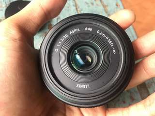 LUMIX 20mm F1.7
