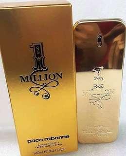 Paco rabanne 1 million Autentic Perfume Us tester