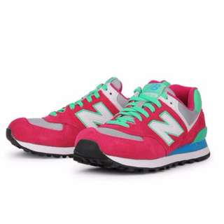 Almost New Authentic NEW BALANCE 574 Women In Three Different Styles NEW BALANCE WL574CPV Womens Running Shoes (Size UK5, US7, EU37.5, 24CM) Selling $68! If fast deal $58!
