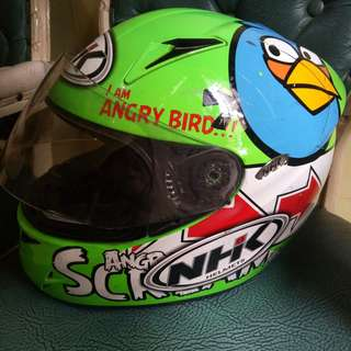 Dijual helm NHK GP TECH edisi Angry Bird