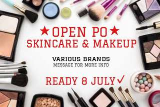 OPEN PO JULY!! SKINCARE & MAKEUP!! 💄💋🙈