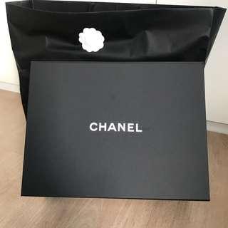 Chanel box and bag