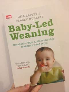 (B Indo version) Baby-led Weaning by Rapley & Murkett