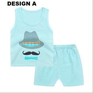 Boy Sets Sleeveless & Short Pants