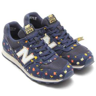 Almost New Authentic NEW BALANCE 996 Women New Balance WR996DUW Flower Floral Navy Women Running Shoes, The Most Fashion Designs (Size UK5.5, US7.5, EU38, 245MM) Selling $68! If fast deal $58!