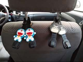 (2 pairs) Car Seat Hook or Hanger or Holder