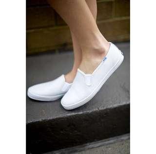 Keds Slipons ~ White