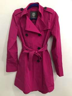 Vince Camuto Trench Coat (Pink)