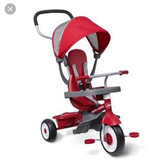 Radio flyer tricycle 4in1.