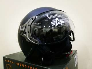 Pilot-Type Motorcycle Helmet (Double Visor)