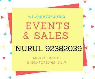 NO EXPERIENCE REQUIRED; Events Ambassador