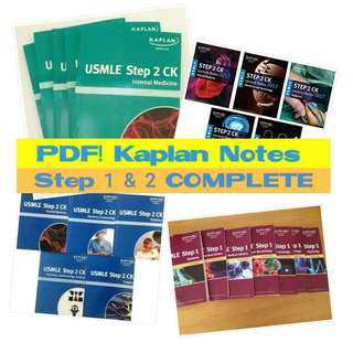 Kaplan Lecture Notes in Medicine COMPLETE SERIES MEDICAL MEDICINE MED BOOKS