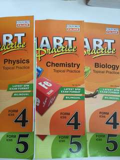 SPM physics, chemistry, biology exercises