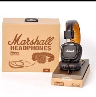 Brand new Marshall Headphones Major