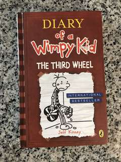 Diary Of A Wimpy Kid: The third wheel (hardcover storybook)