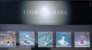 英國皇家郵政燈塔套摺 Royal Mail Lighthouses Presentation pack