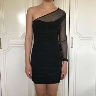Forever21 One-shoulder Bodycon Dress