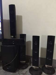 LG Home Theater Speakers ONLY. Amplifer not included.