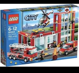 60004 Lego City Fire Station BNIB