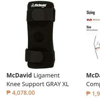 McDavid Knee Pads in Good Used Condition