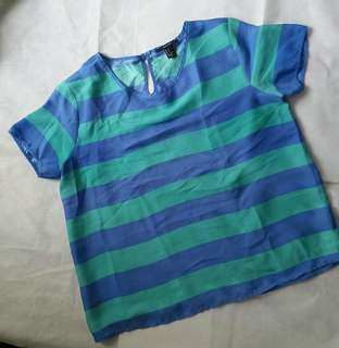 Forever21 silk top