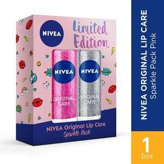 Nivea Sparkle Lipcare Pink
