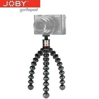 JOBY 1502 GorillaPod 500 Flexible Mini-Tripod For Smartphone, Actiona Camera, Video Camera