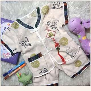 Chinese style baby outfit