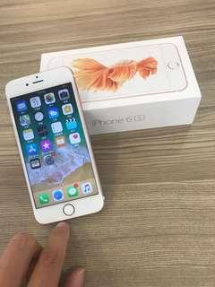 Iphone6s 128GB Rose Gold