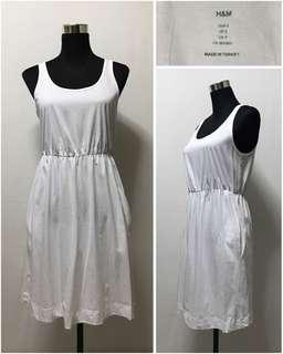 Preloved H&M white dress