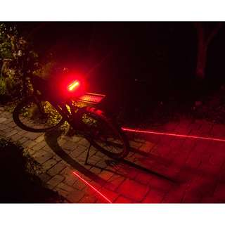💯🆕 Meilan X5 Remote Control Signal / Rear / Laser Light Safety Bicycle / Scooter Tail Light