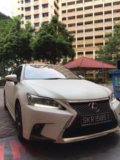 (Grab/Ryde) Lexus Hybrid CT200H
