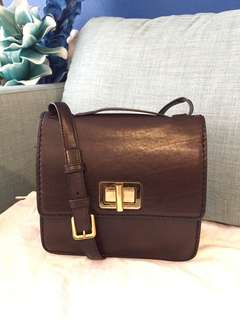Genuine Chloé Louise Crossbody Bag in Brown
