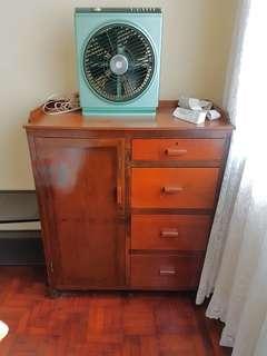 Elegant Teak Antique Cupboard