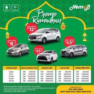 Sewa mobil murah di Jakarta