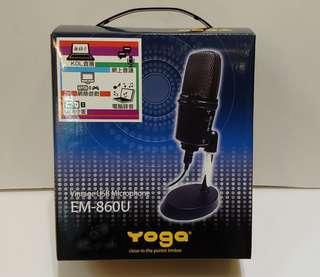 100%全新Yoga EM-860U專業收音咪
