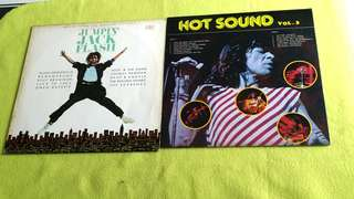 JUMPIN' JACK FLASH music from the motion picture ● HOT SOUND VOL.3 . Nazareth ● Rolling Stone ● Uriah Heep ● Rainbow● Bee Gees ● Aerosmith ●  KOOL & the Gang ● Supremes ● Rod Stewart ● KC Sunshine Band . etc..   buy 1 get 1 free   vinyl record