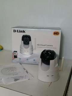 D-Link DCS-2555L 720p pan and tilt ip camera