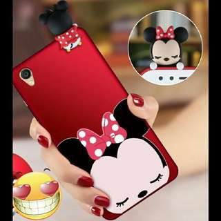 🚚 ⚠ Pre-order! Cute Pop Out Minnie Mouse, Mickey Mouse, cat and rabbit Theme Phone Cover Design For IPhone 5 ,5S ,5SE ,6 ,6S ,6plus ,6Splus ,7 , 7plus & OPPO A33, A37, A39, A57, A59, F1S , R9, R9 Plus, R9s, R9s Plus, R11, R11 Plus, R11s, R11s Plus and R15