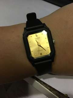 Casio Resin Black Watch Authentic with warranty