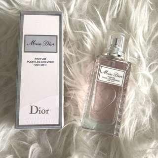 Miss Dior Parfum hair mist
