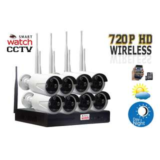 CCTV Wireless Camera (8Camera  KIT)