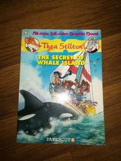 Thea Stilton: The Secret of Whale Island