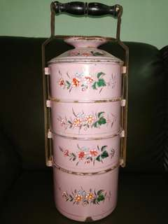 Antique Peranakan Tiffin Carrier