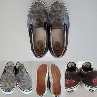 Sepatu vans ironmaiden