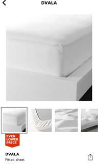 🆕🆕 Ikea Dvala Bedsheet